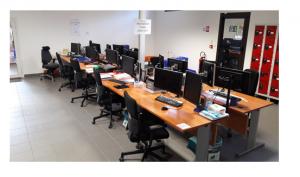 Nouvel espace pour le pôle numérisation industrielle et prestations RH à Toulouse