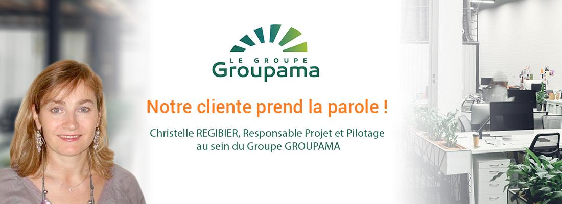 Interview Christelle REGIBIER, Responsable Projet et Pilotage au sein du Groupe GROUPAMA