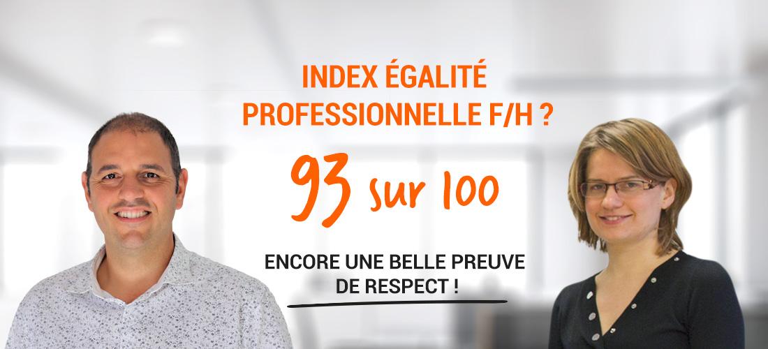 INDEX ÉGALITÉ PROFESSIONNELLE F/H