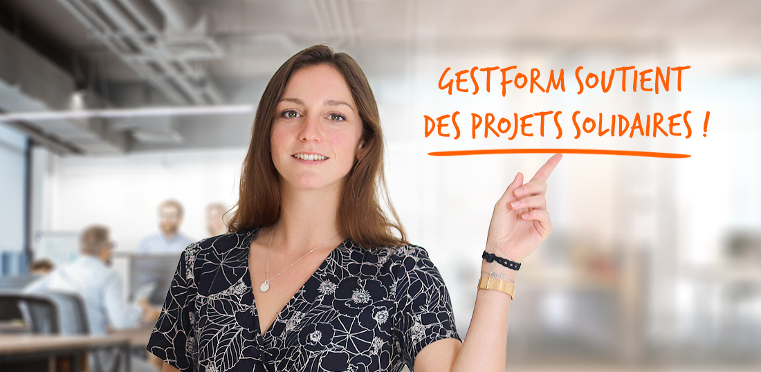 GESTFORM soutient des projets solidaires !
